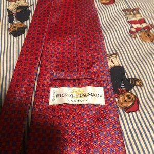 Pierre Balmain Couture Tie